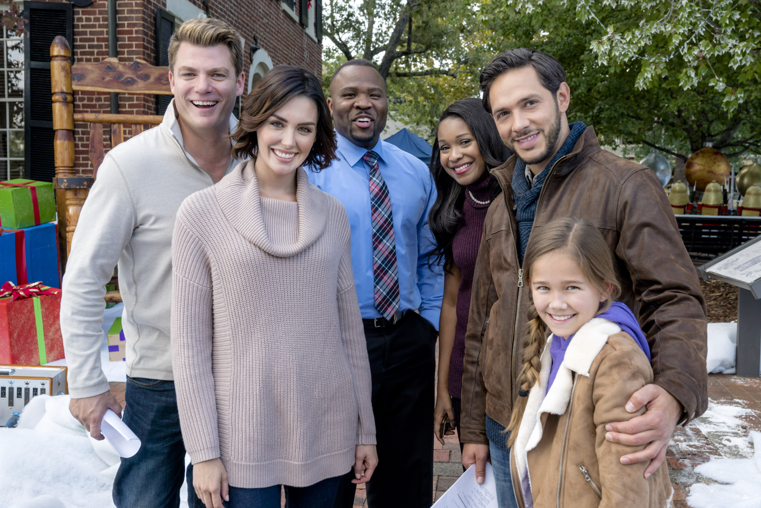 Ritzy Crew Hallmark About Homestead Cast Homestead Cast Homestead Hallmark Channel curbed Christmas In Homestead Cast