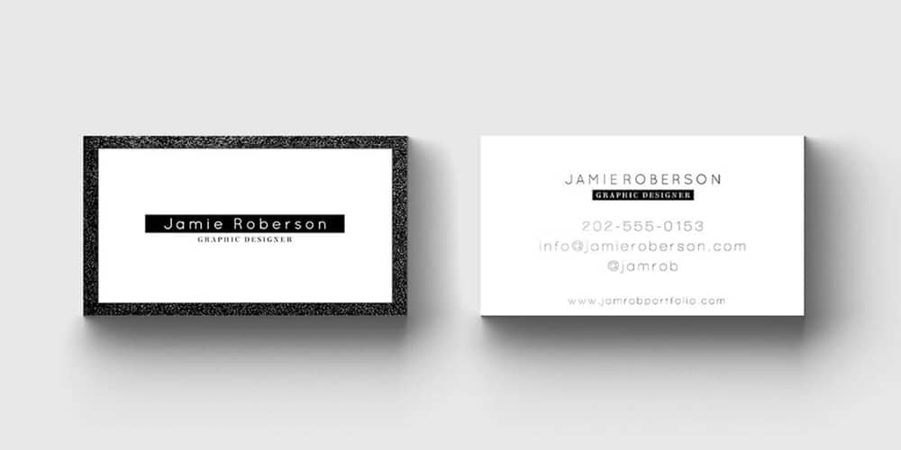 100+ Free Business Cards PSD » The Best of Free Business Cards - card template