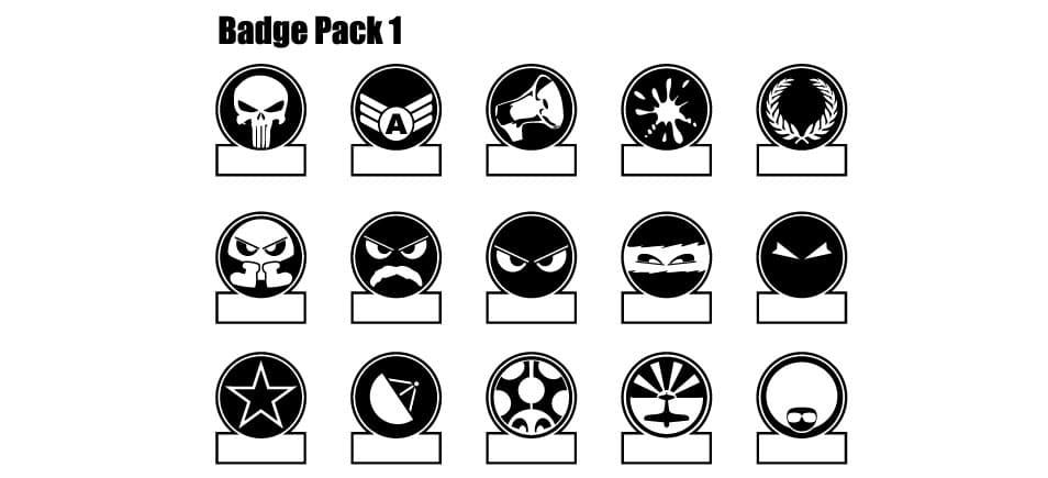 100+ Best Free Badges Vector  PSD » CSS Author