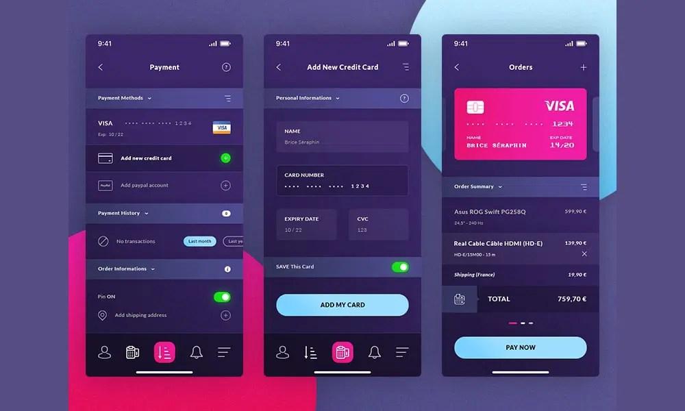 Latest Free Mobile App UI PSD Designs » CSS Author
