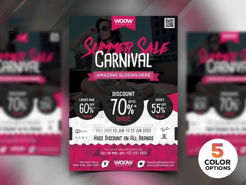 Best Free Flyer Templates PSD » CSS Author