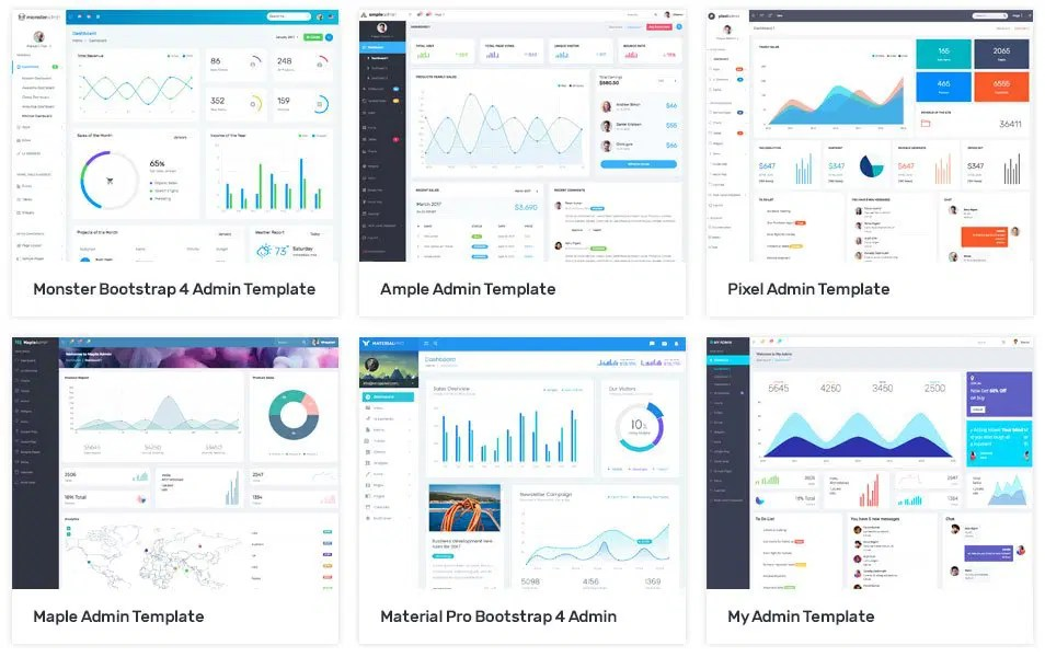 100+ Best Free Bootstrap Admin Templates » CSS Author - bootstrap admin template