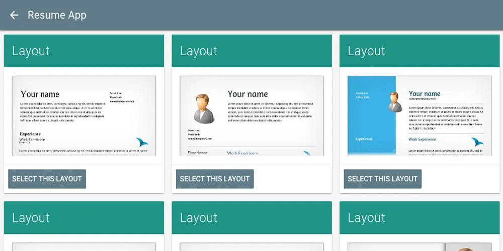 Best Professional Online Resume Builders » CSS Author - free resume apps
