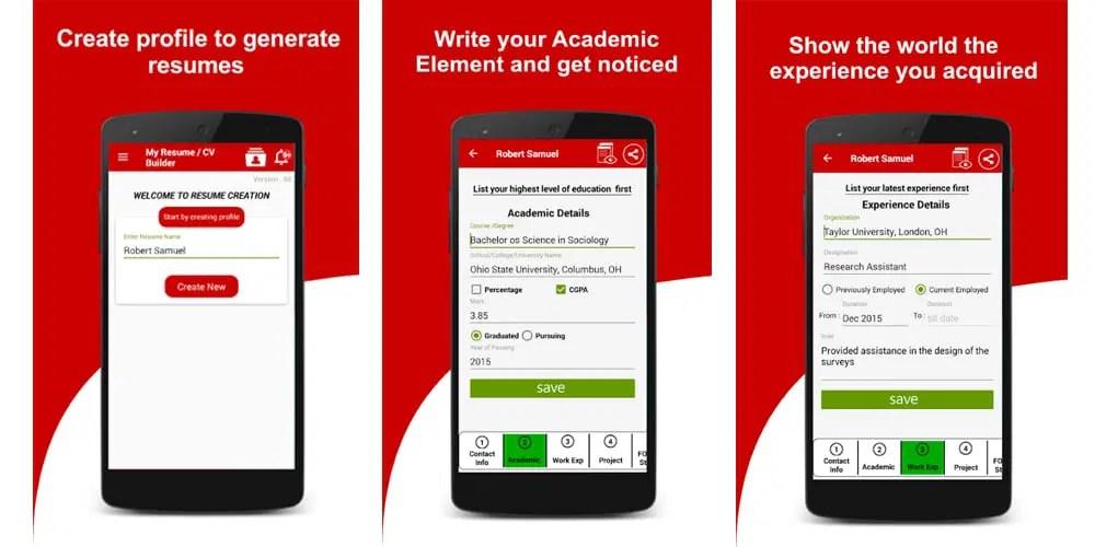 Best Online Resume Builders Free  Premium » CSS Author