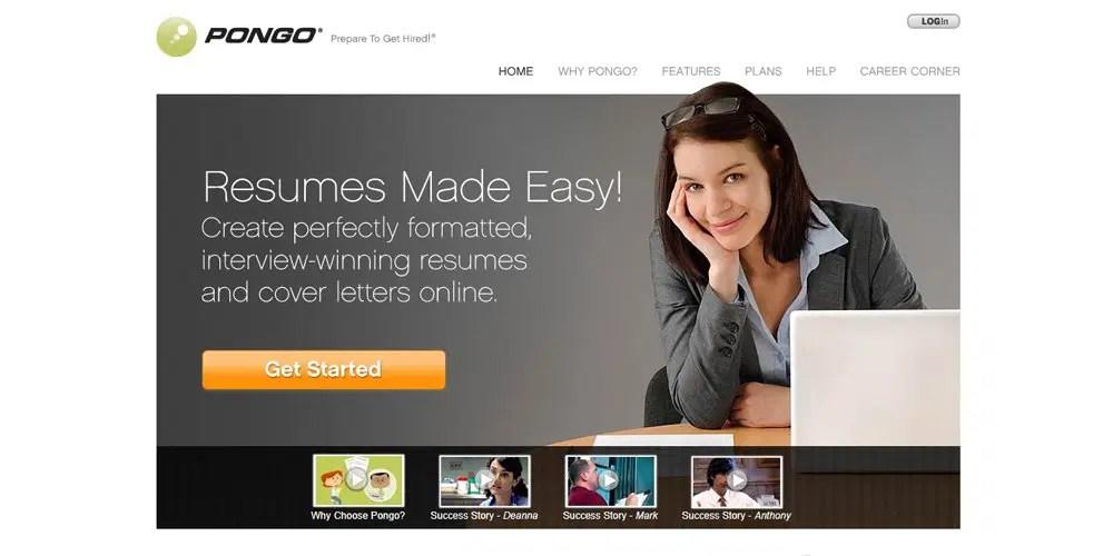 Best Professional Online Resume Builders » CSS Author - pongo resume