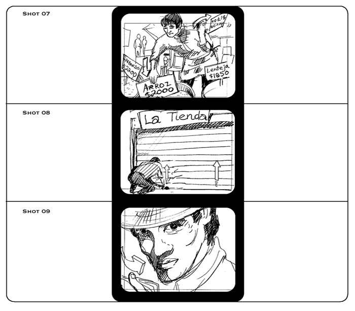 Storyboards Aguila Commercial Storyboard Project Storyboard - commercial storyboards