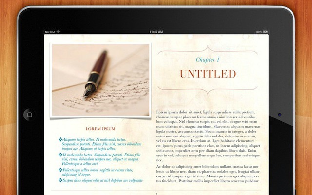 Additional Themes For iBooks Author Get Rid Of The Textbook Look