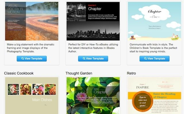 Working On An Ebook Using iBooks Author? These Template Packages Can