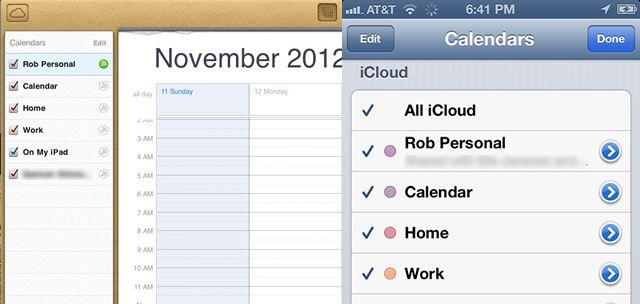 Change The Order Of Your iPhone Calendars Via iCloud iOS Tips