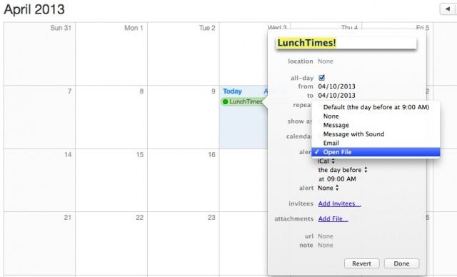 Five Awesome Tips And Tricks To Master OS X Calendar Feature