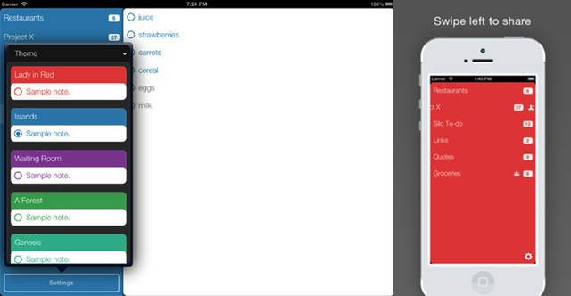 Silo App, A Slick And Simple To-Do List For iPhone, iPad And Mac