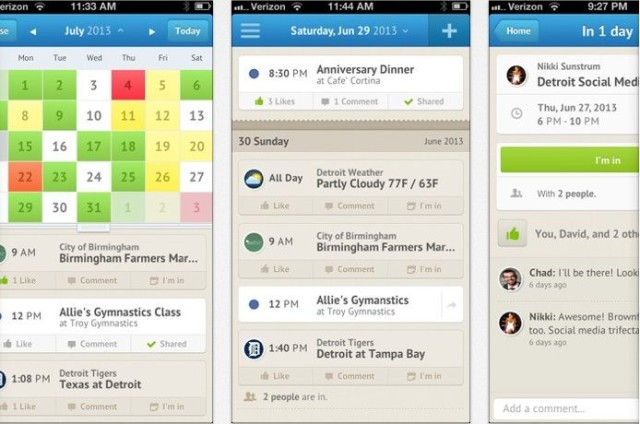 See Exactly What Your Friends Have Planned With Wonderfully Social
