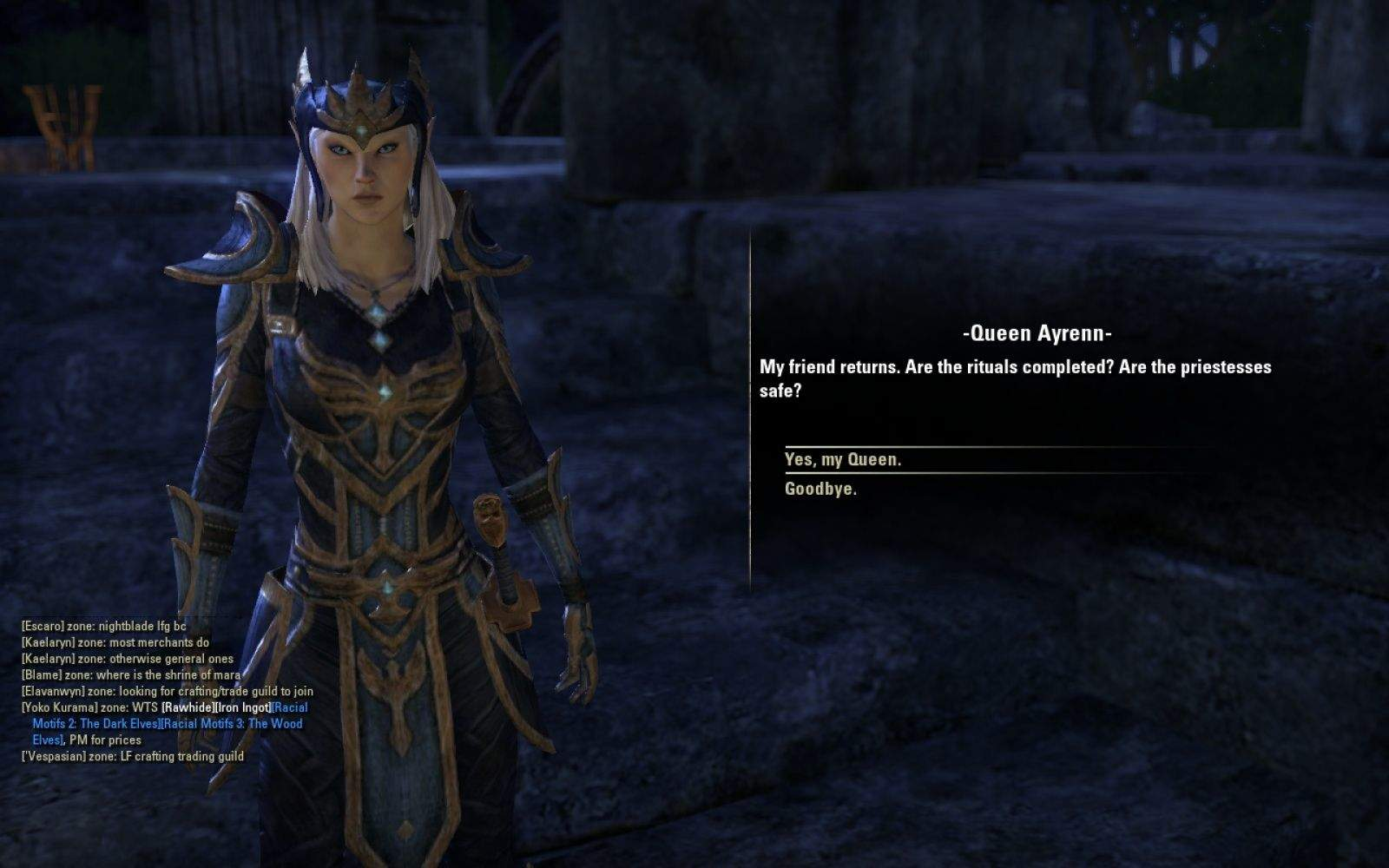 Legends Of The Fall Wallpaper Exploring Epic Mmo Elder Scrolls Online Feature Cult