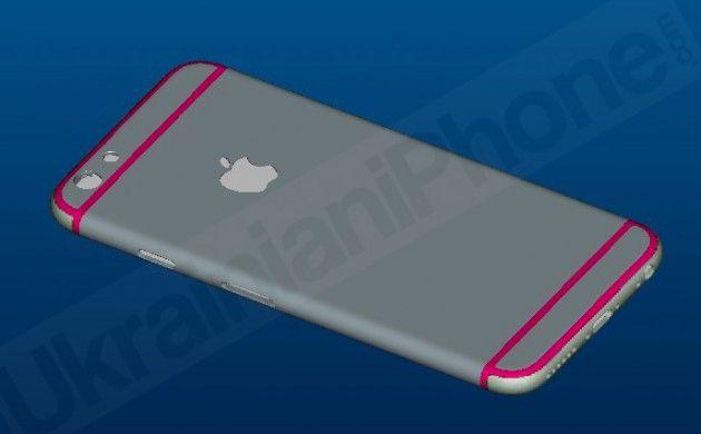 Blueprint Wallpaper Iphone 6 Latest Iphone 6 Renderings Show Rear Antenna Cutouts