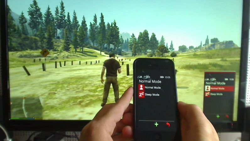 Gta V Iphone 5 Wallpaper Cool Mod Lets You Use Gta V In Game Phone With Your Iphone