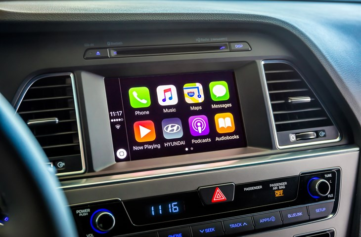 CarPlay and Android Auto are fast becoming standard for new cars