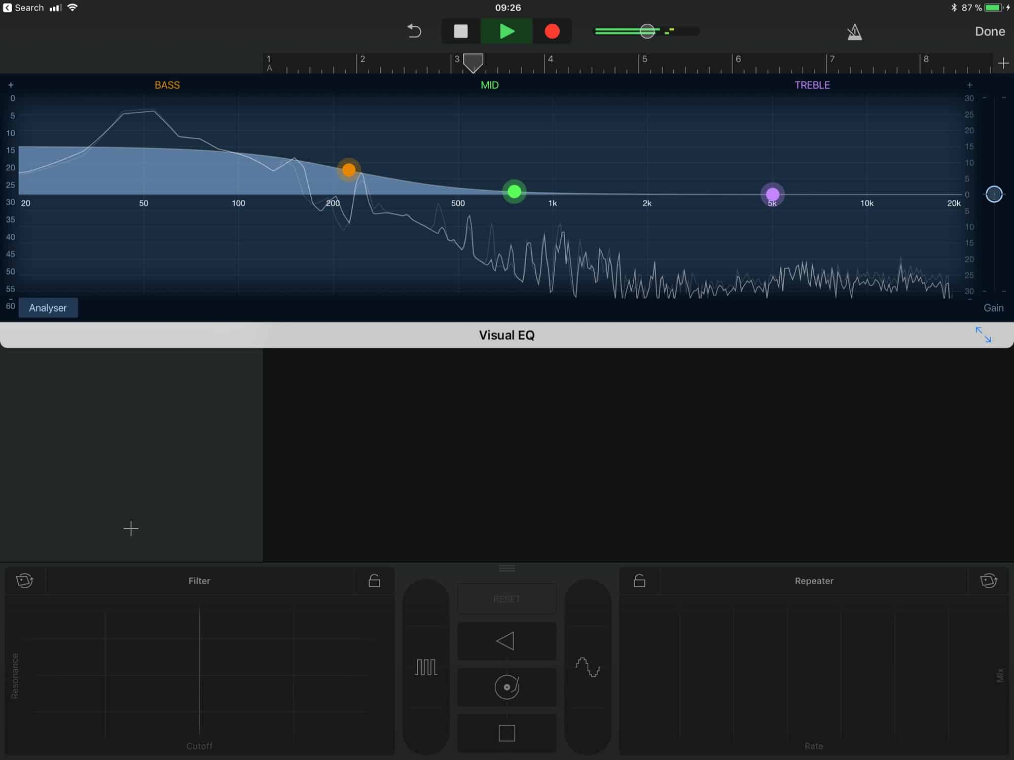 Garageband X How It Works Pdf How To Add An Eq And Effects Master Track In Garageband For Ios