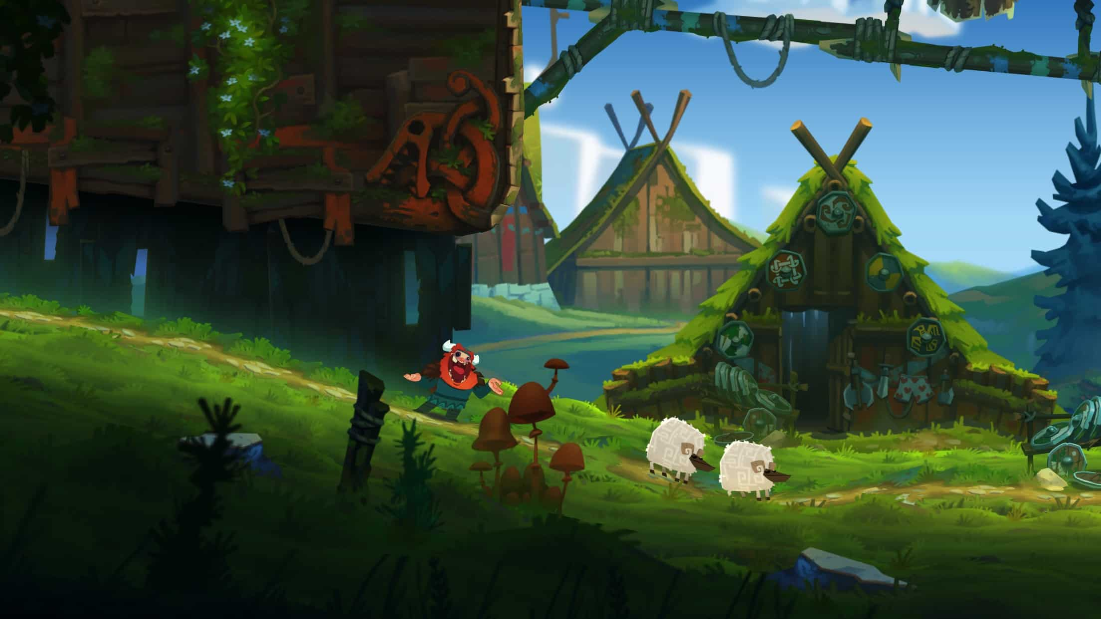 Shelf Wallpaper Iphone Oddmar Is A Viking Themed Platformer From The Makers Of