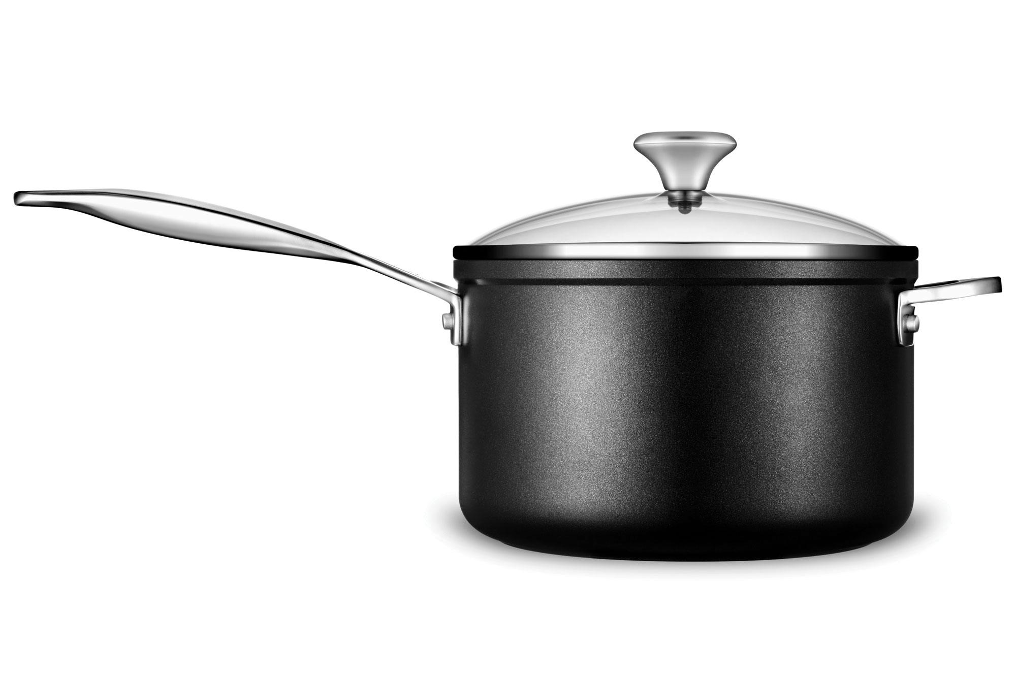 Le creuset toughened nonstick cookware set 12 piece