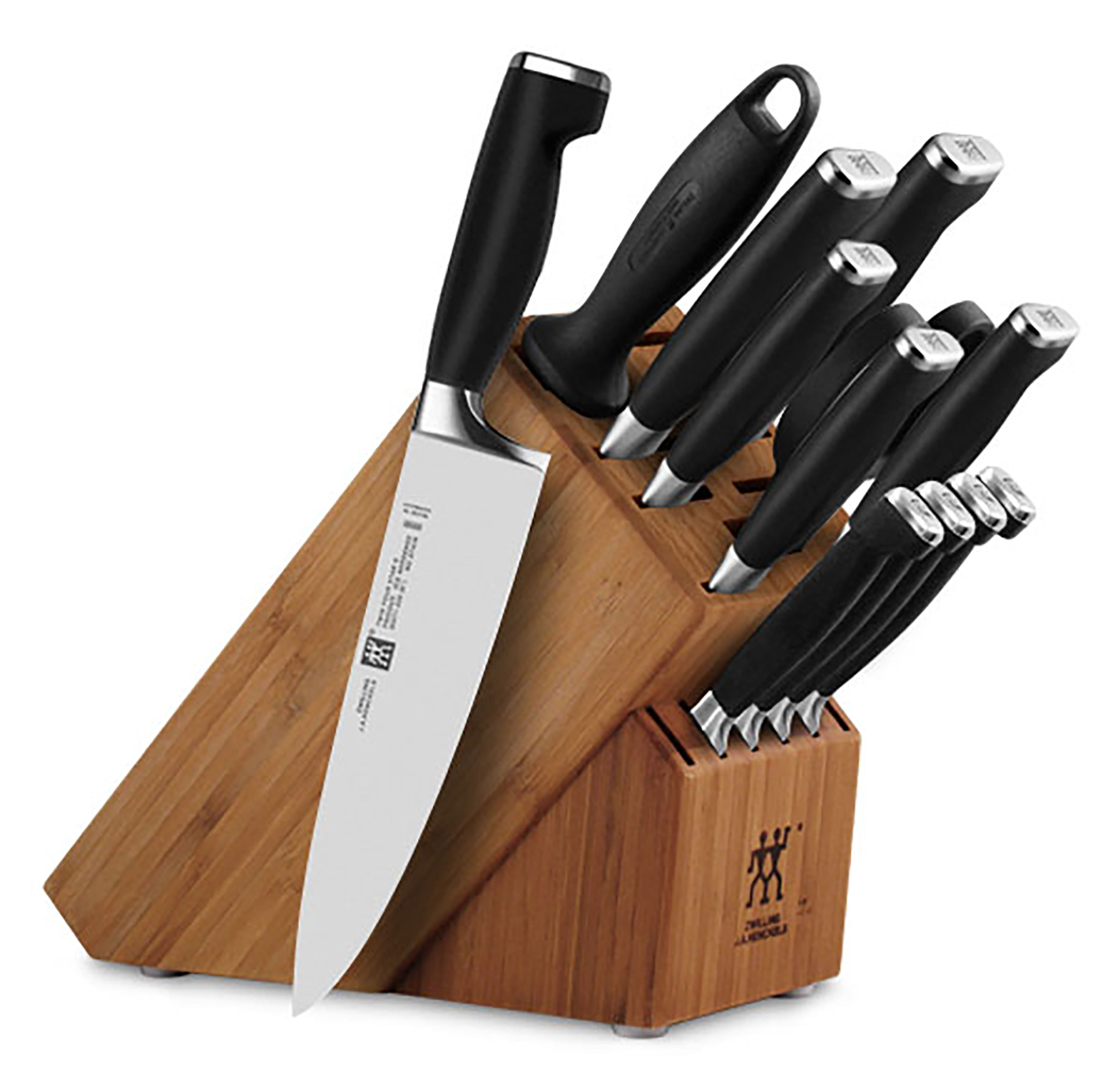 Raclette Tischgrill Zwilling J.a.henckels Zwilling J A Henckels Twin Four Star Ii Knife Block Set