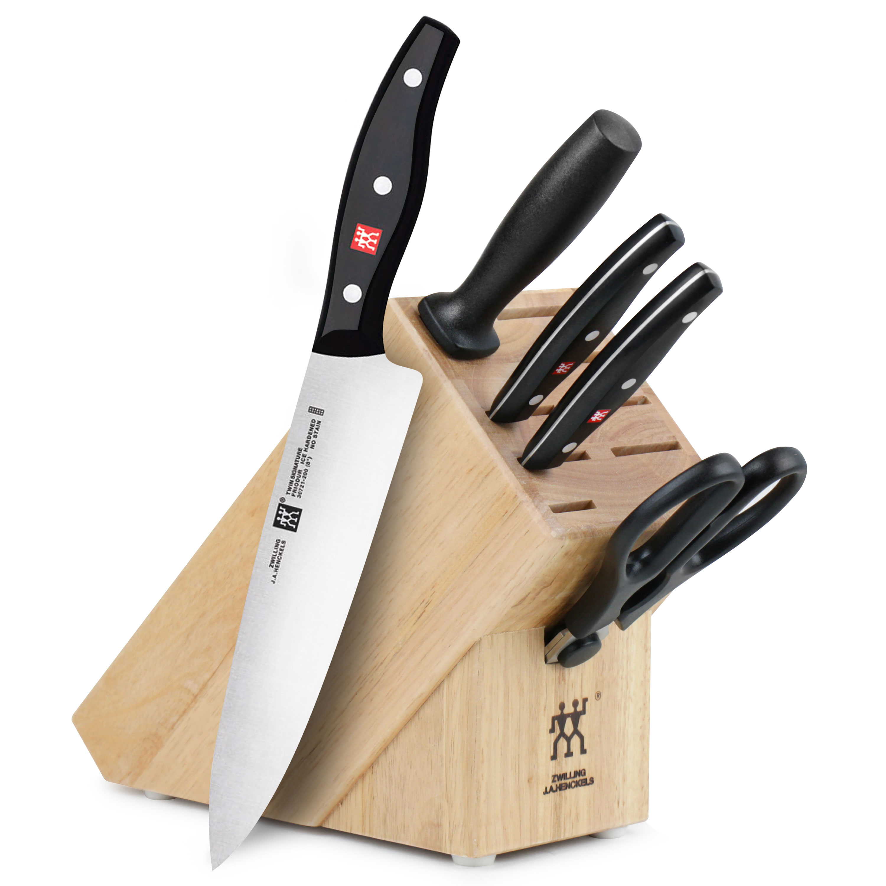 Raclette Tischgrill Zwilling J.a.henckels Zwilling J A Henckels Twin Signature Knife Block Set 6