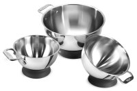 All-Clad Spherical Mixing Bowl Set, 3-piece | Cutlery and More