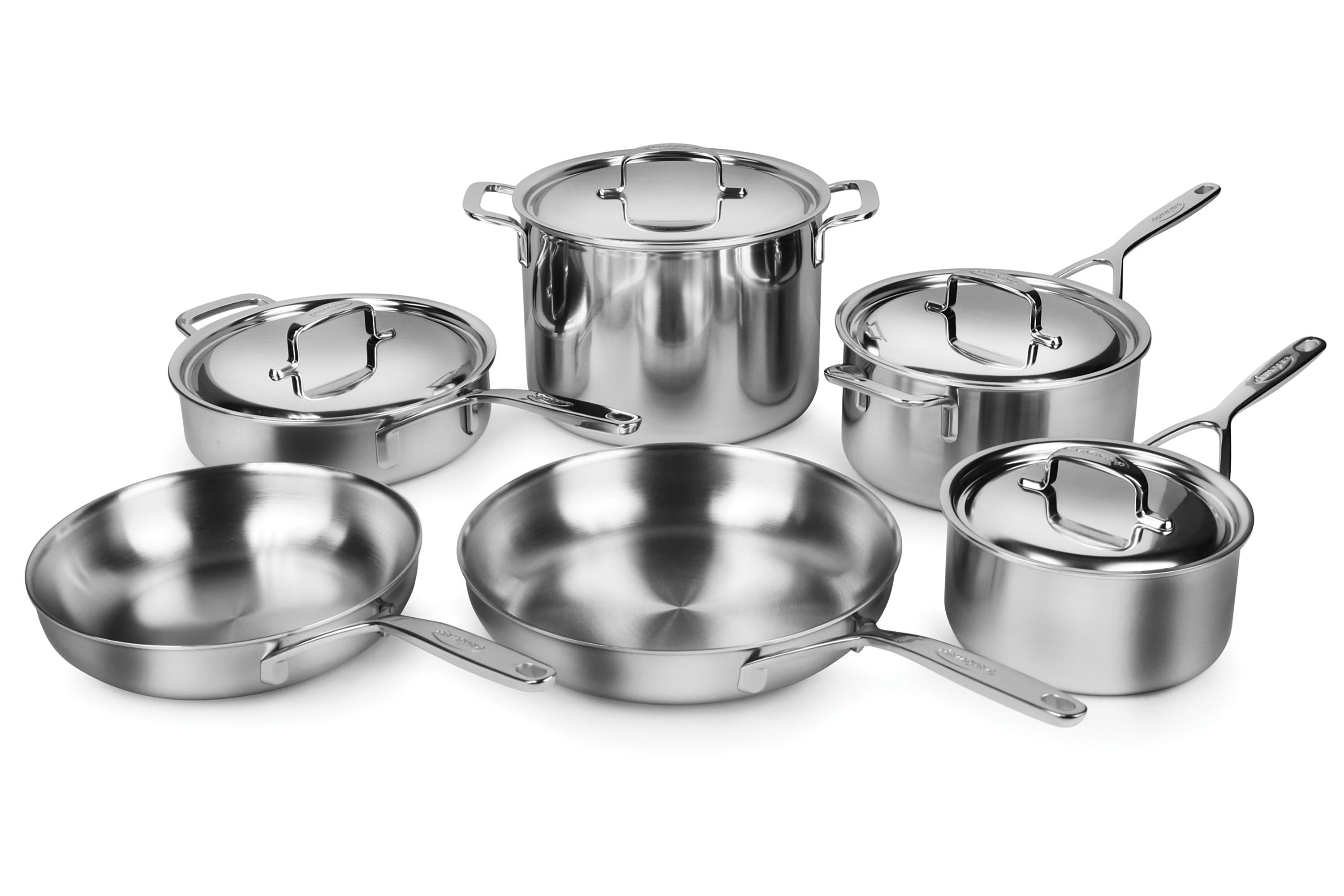Myer Cutlery Set Demeyere Cookware Set 5 Ply Plus Stainless Steel 10 Piece