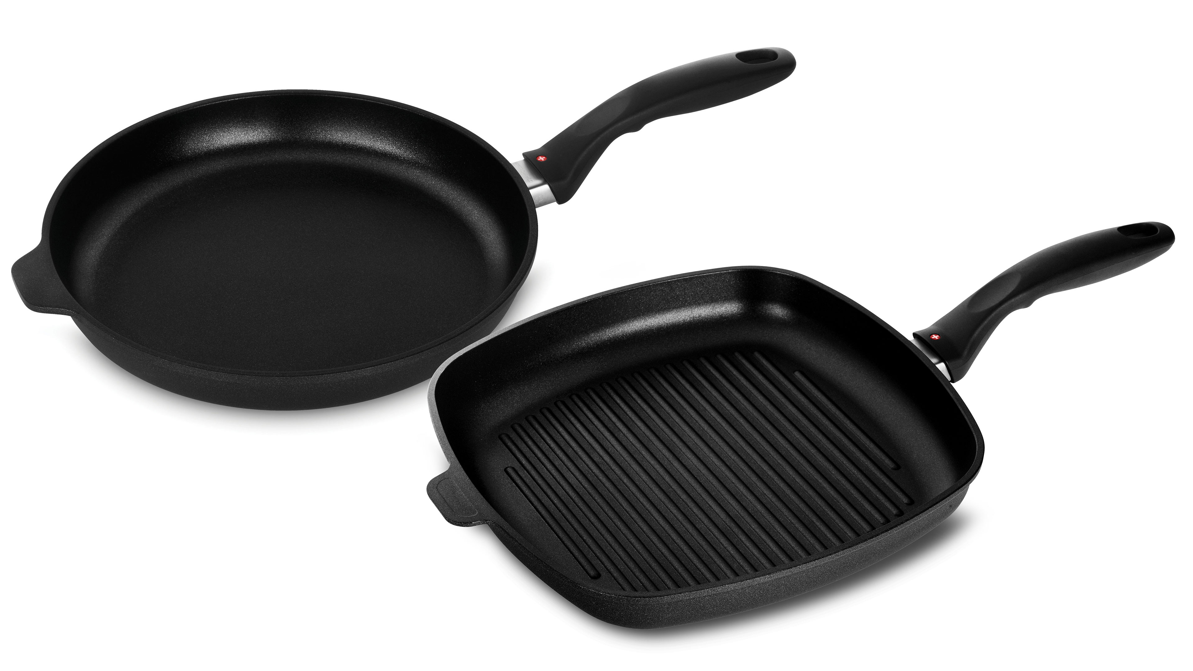 Grill Frying Pan Swiss Diamond Xd 2 Piece Nonstick Induction Fry Pan Grill Pan Set