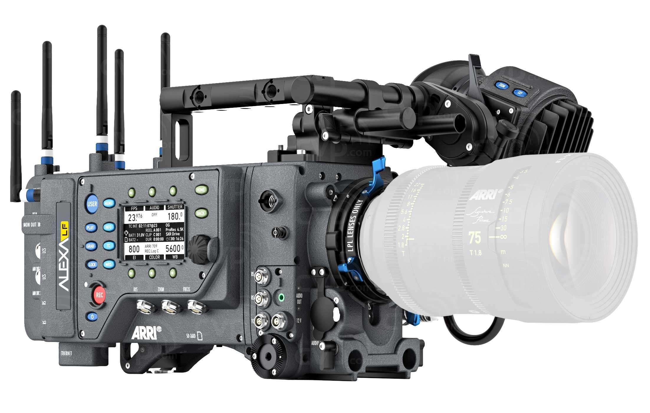 Alexa Audio Buy Arri Alexa Lf Large Format Digital Camera Basic