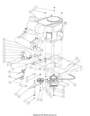 smallv twin engine diagram