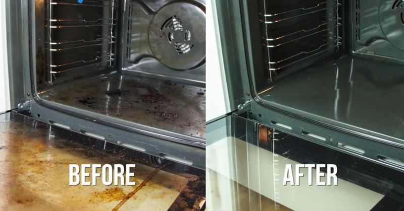Water, Baking Soda, And Vinegar Is All You Need To Make Your Oven