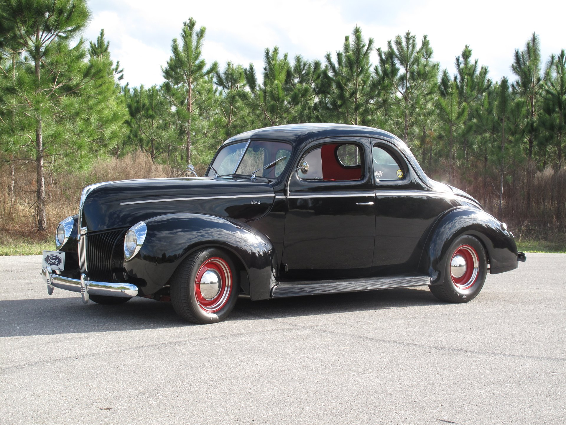 Coupe Ford 1940 Ford Coupe Burnyzz American Classic Horse Power