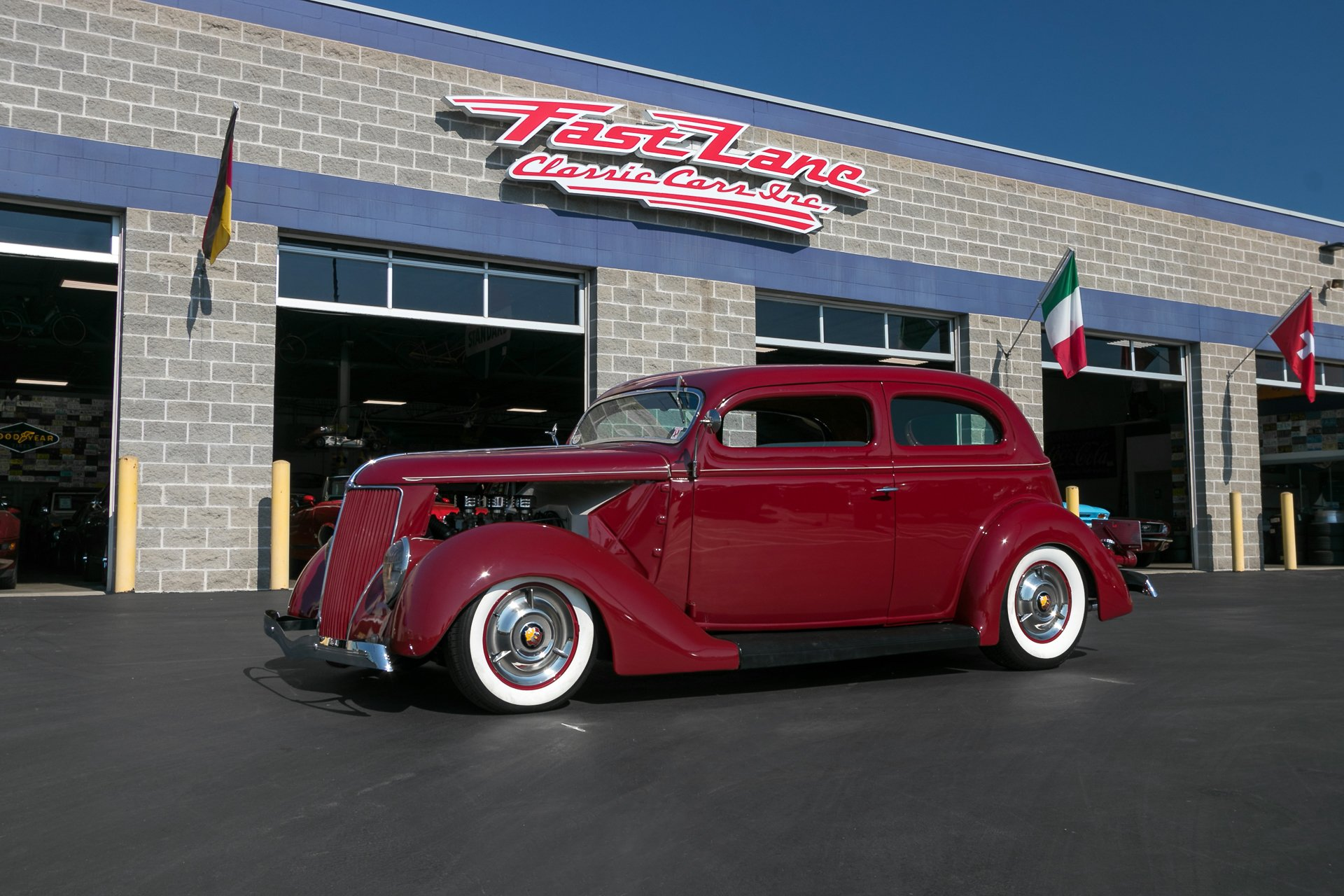 Coupe Ford 1936 Ford Coupe Fast Lane Classic Cars