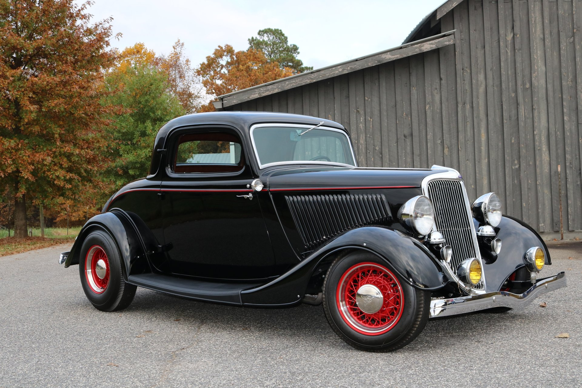 Coupe Ford 1934 Ford 3 Window Coupe Gaa Classic Cars