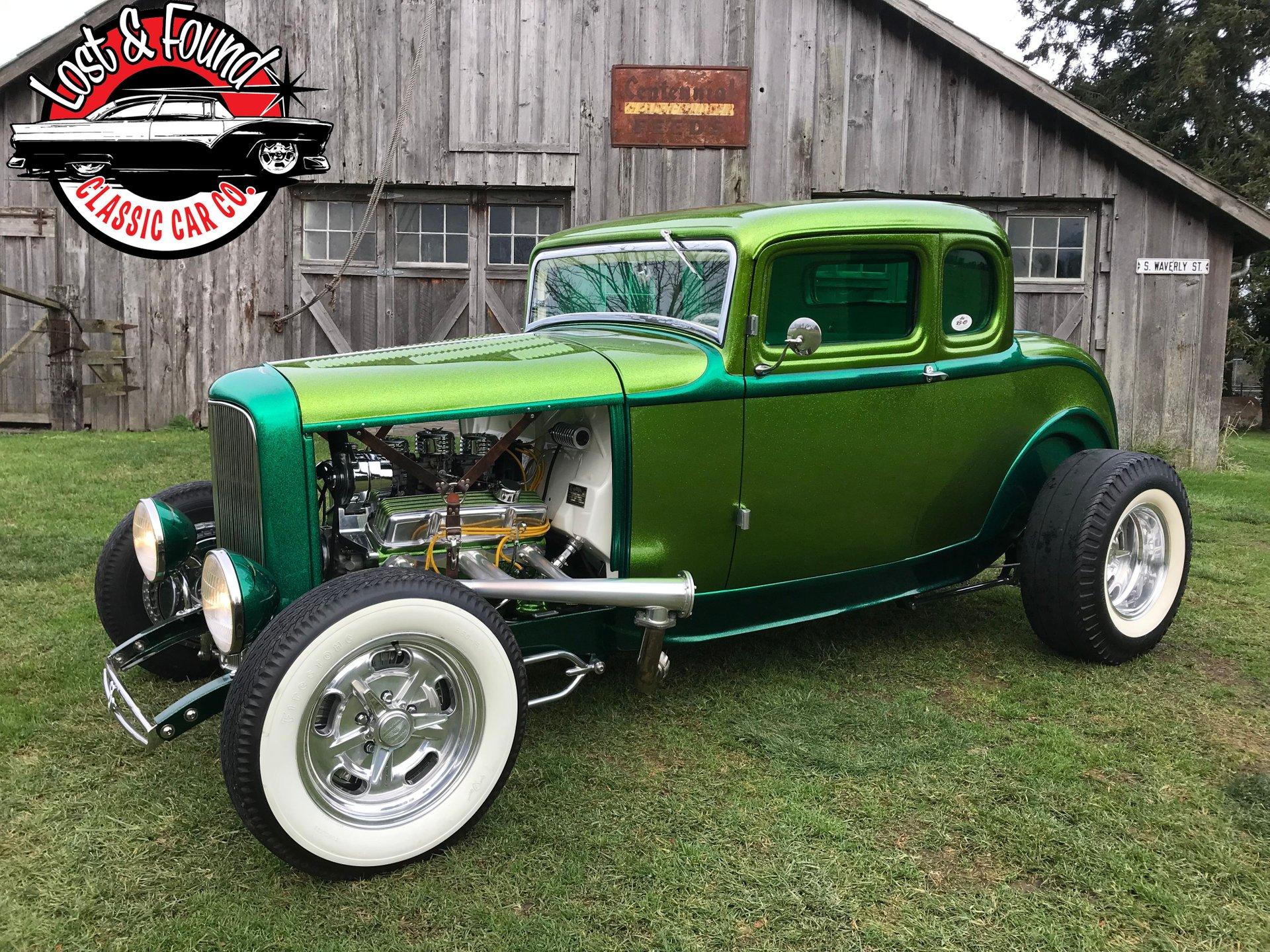 Coupe Ford 1932 Ford 5 Window Coupe Show Car Lost Found Classic Car Co