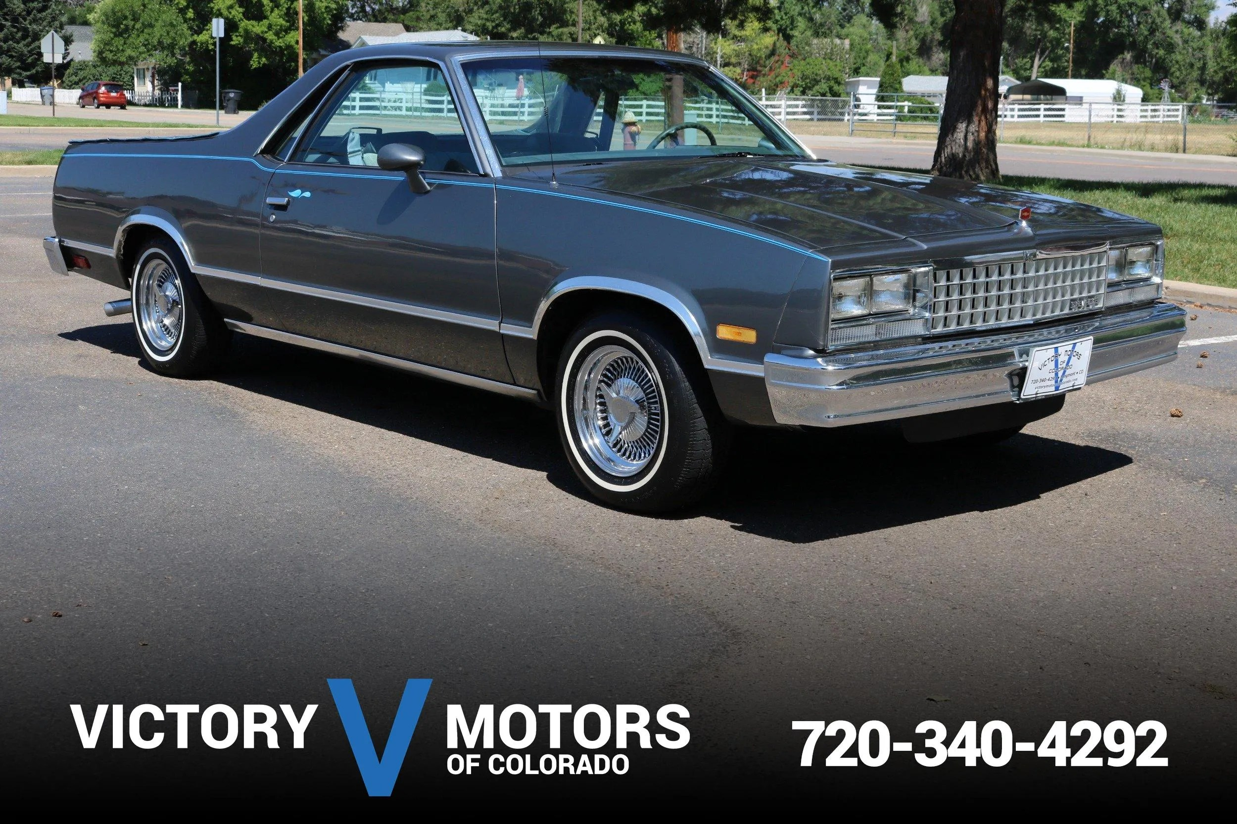 El Camino Gas Mpg 1985 Chevrolet El Camino Victory Motors Of Colorado