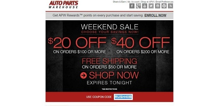 weathertech coupons free shipping