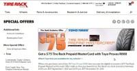 Get $75 Off | Tire Rack Promo Code  Dealspotr Coupons