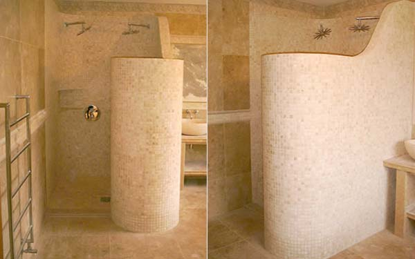 Roman Showers for Modern Bathrooms