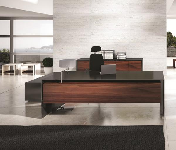 Imposing Massive Office Desk by Ece Yalim Design Studio Office