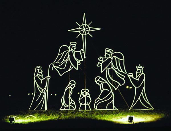 Christmas Yard Decorations - christmas lawn decorations