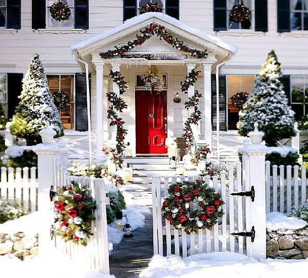 Outdoor Christmas Decoration Ideas - christmas decorations outside