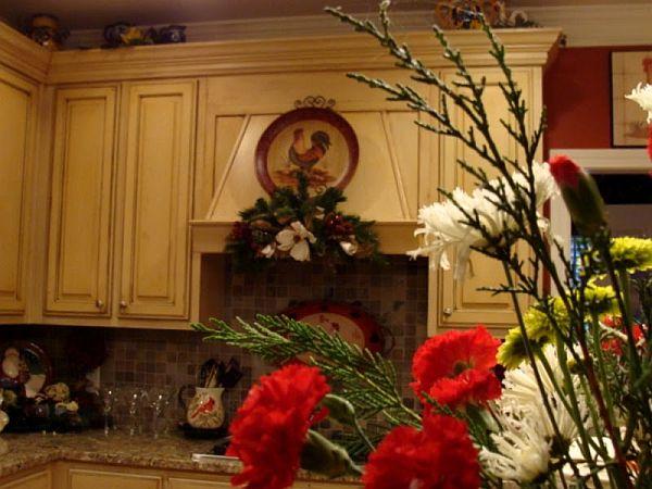 Christmas Kitchen Decoration Ideas Curtains, Tablecloth, Windows - christmas kitchen decor