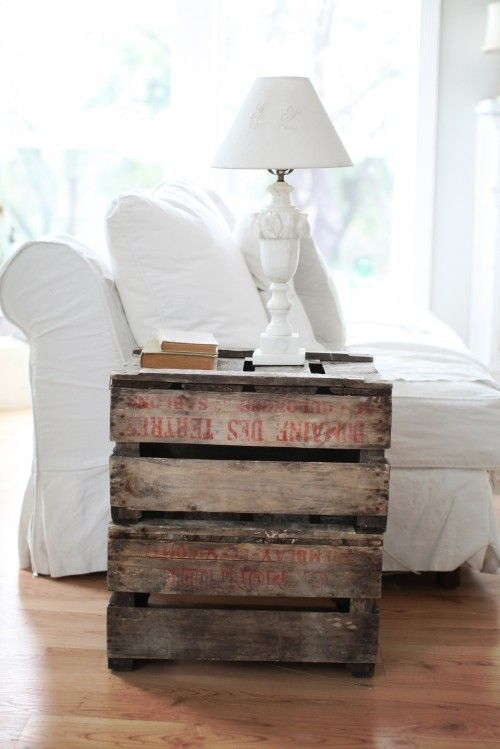 Vintage Sofa With Built In End Tables Pallet Furniture: Recycling Pallets Into Unique Furniture