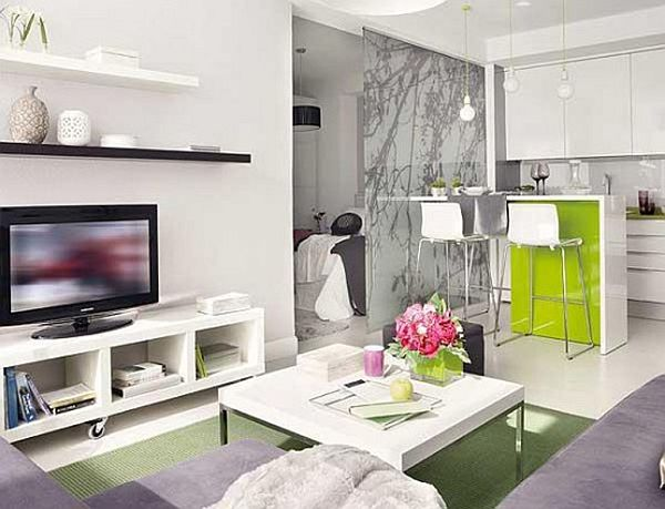 Tips to Make a Small Space Look Bigger - how to make a small living room look bigger