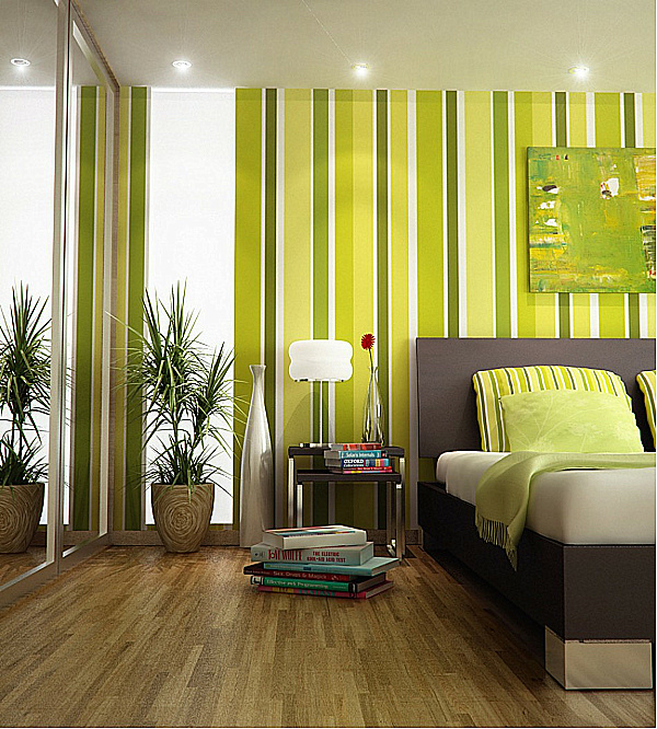 Tapete Modern Shades Of Green: A Verdant Spring Decorating Palette