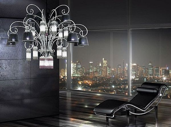 Lustre Salon Design Choosing The Right Chandelier: 18 Contemporary Ideas To