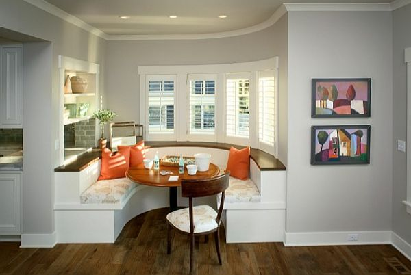 kitchen built booth family friendly dining area stunning home kitchen designs luxurious traditional kitchen ideas
