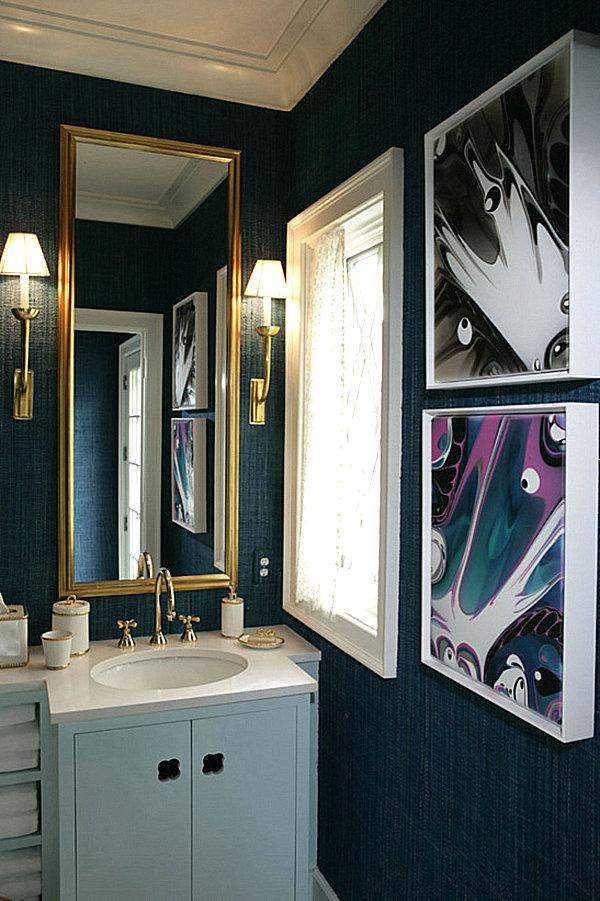 Purple And Black Bedroom Wallpaper Dazzling Jewel Toned Decor