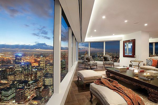 Private Sauna Stunning Australian Inner City Penthouses